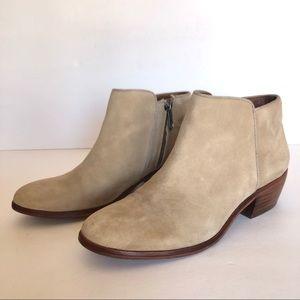 Sam Edelman Petty Chelsea Tan Women Ankle Boots 7
